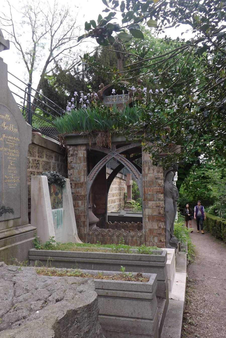 Le cimetière du Père-Lachaise (1804) | voyageursaparistome20